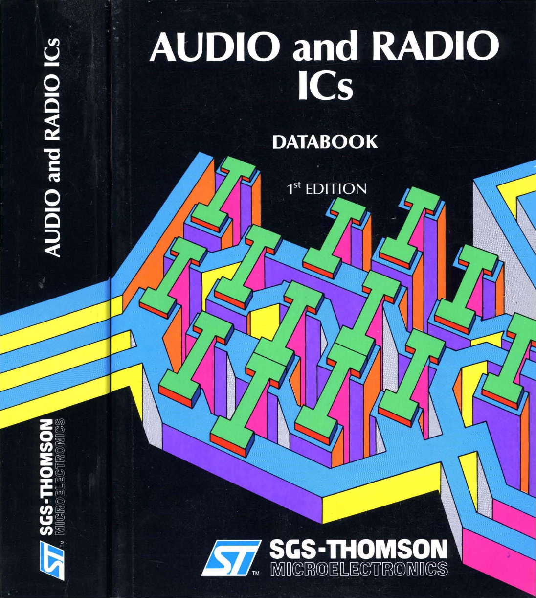 1988 Sgs Thomson Audio And Radio Ics Databook 1ed Tda2004 Car Stereo Amplifier Circuit Electronic Circuits