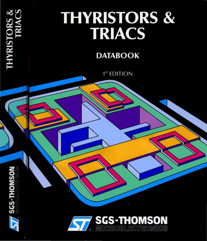 1989_SGS Thomson_Thyristors_and_Triacs_Databook_1ed 1989 SGS Thomson