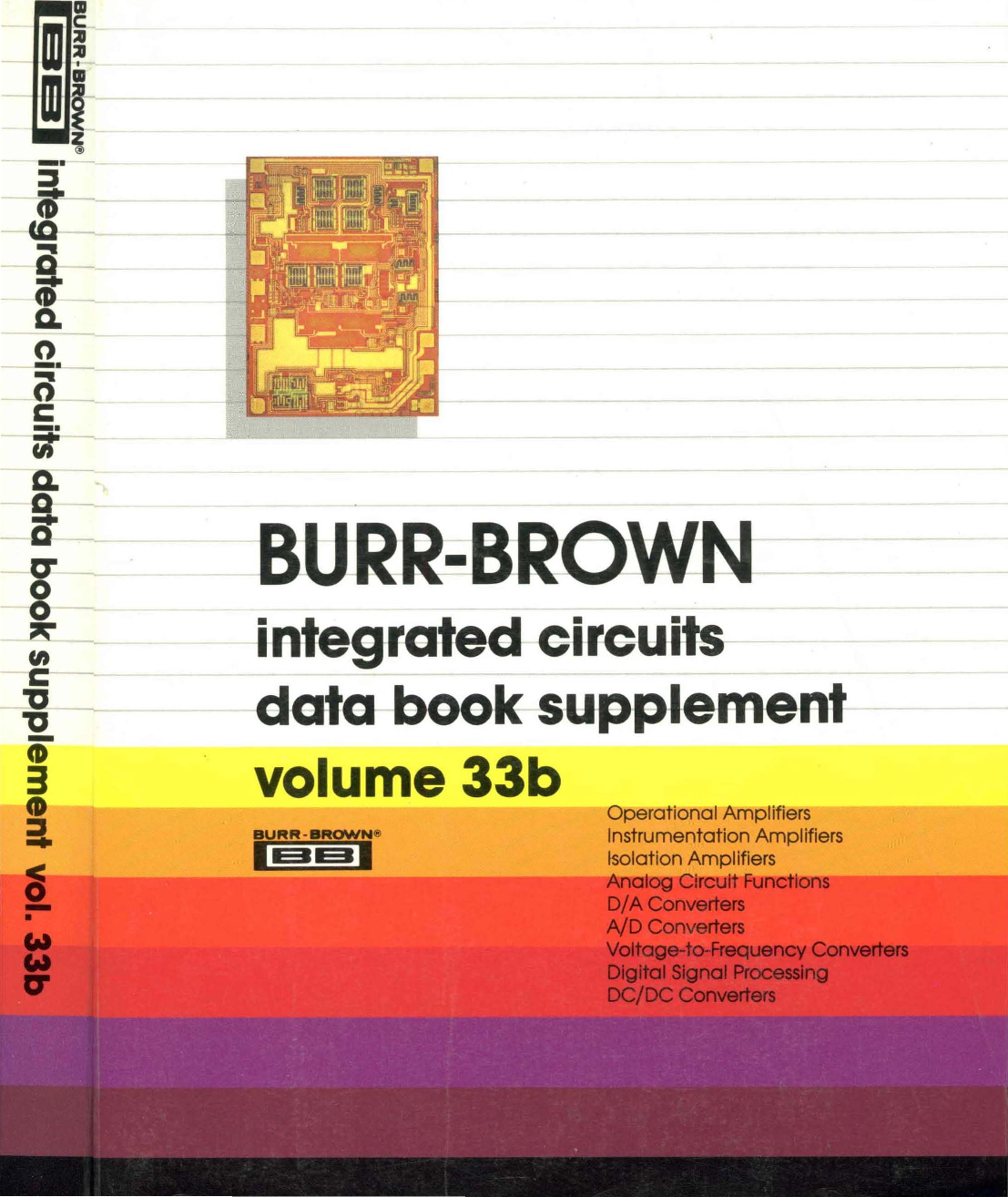 1990 Burr Brown Integrated Circuits Data Book Supplement 33b Functions Of Circuit