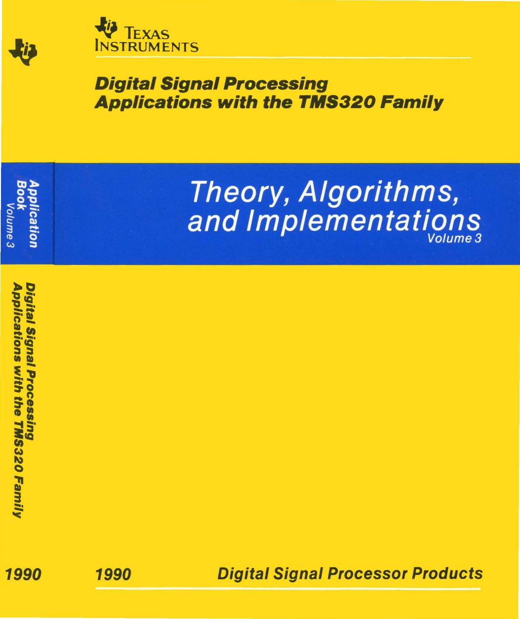 1990_TI_DSP_Applications_Vol_3 1990 TI DSP Applications Vol 3