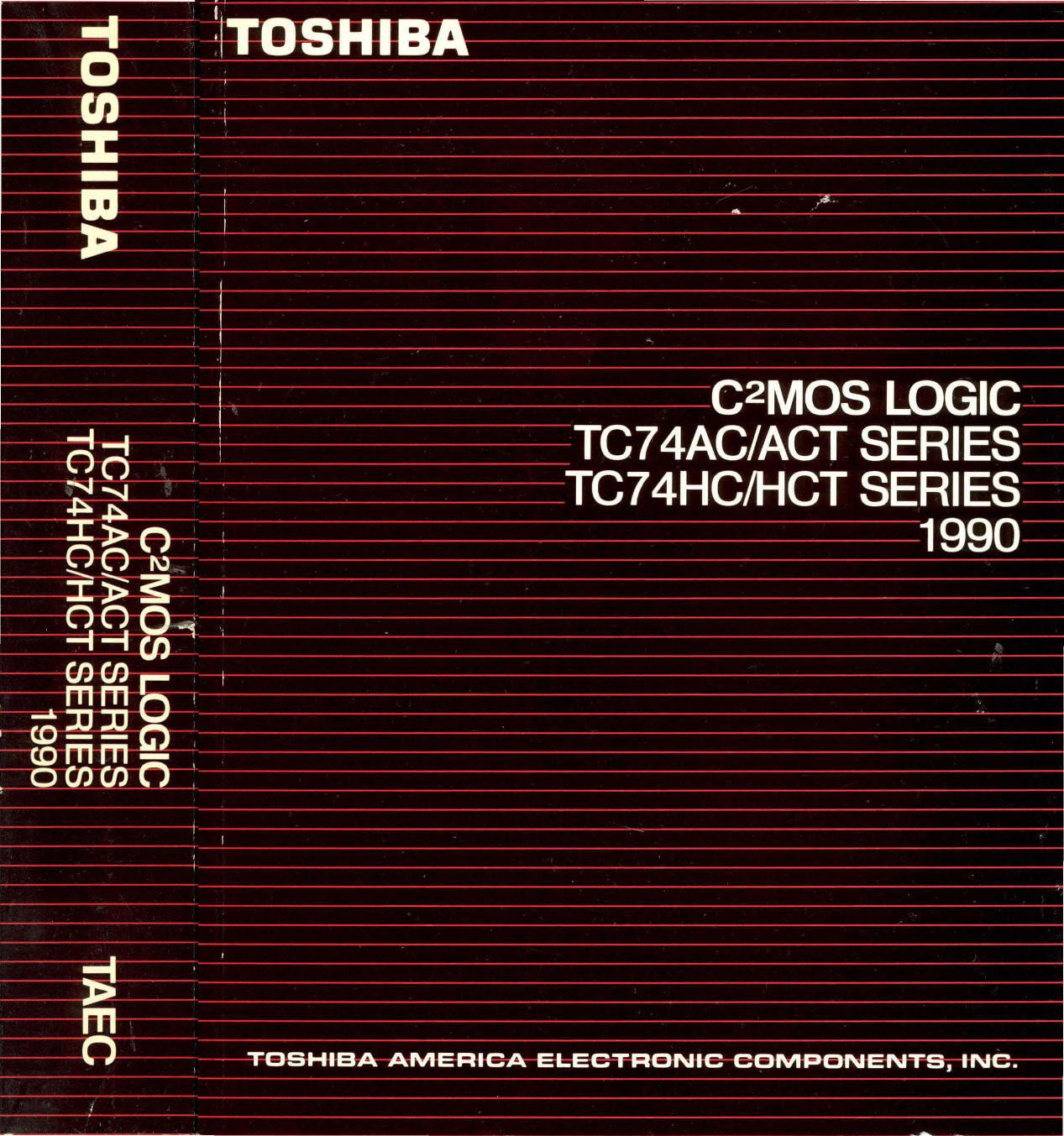 1990 Toshiba C2mos Logic 74hc147 Circuits Wiring Diagram