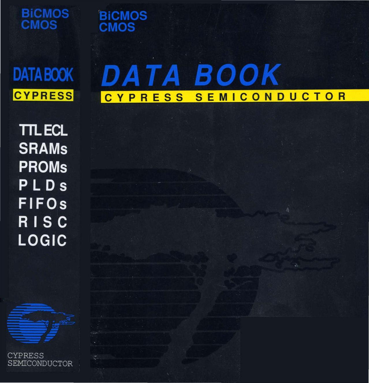 1992_Cypress_Bi CMOS_CMOS_Data_Book 1992 Cypress Bi CMOS Data Book