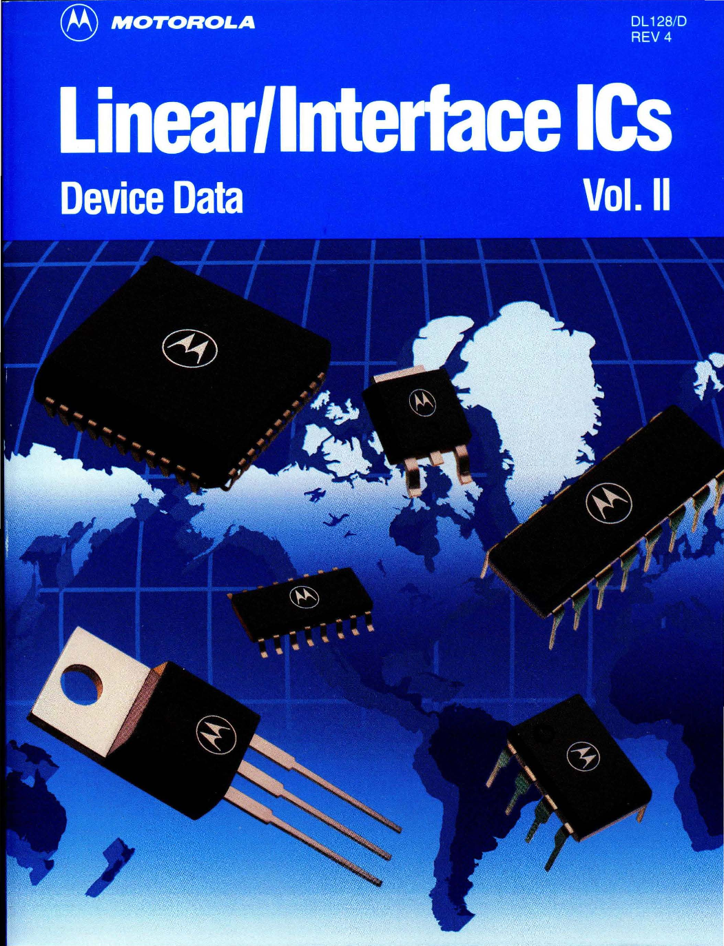 1993 Motorola Linear Interface Ics Vol 2 Led Circuitslightech Driversled Electronic Driverled Circuit