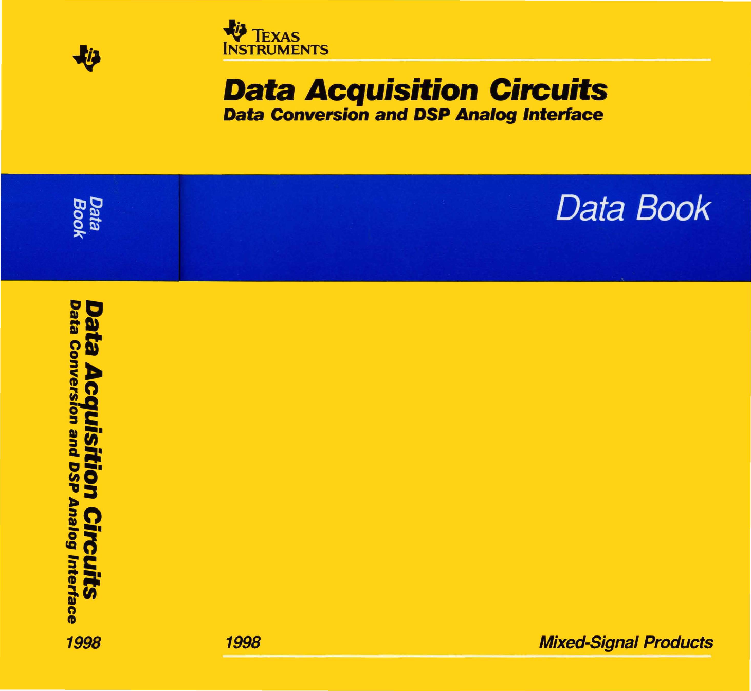 1998 Ti Data Acquisition Circuits Book Icl7135 Typical Application Schematic Diagram And Datasheet