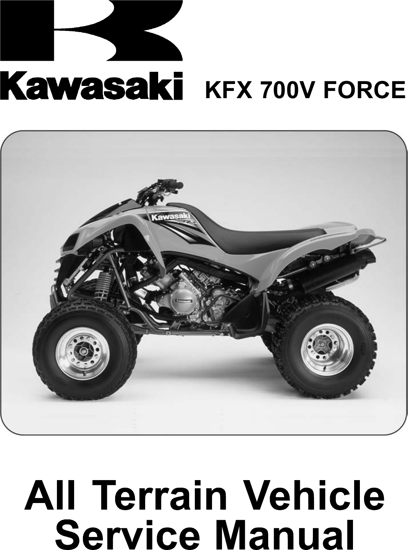 2004 04 KAWASAKI KFX 700 WATER PUMP COVER