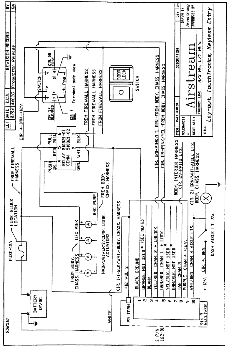 Airstream 396 2005 390 Sky Deck Xl Mh Manual Ceiling Fan Zing Ear Pull Chain Switch Wiring Diagram Besides 3 Speed