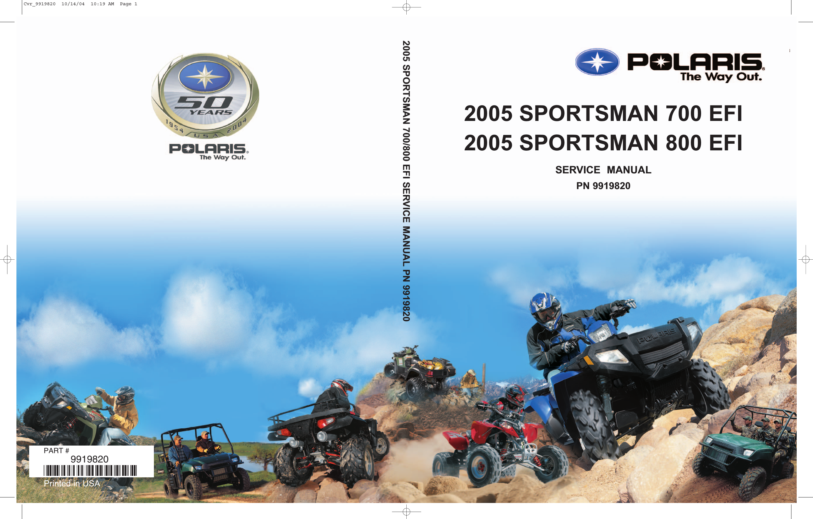 Air Flow Wiring Diagram Polaris Sportsman 700 Twin Electrical 2005 Efi 800 Service Manual