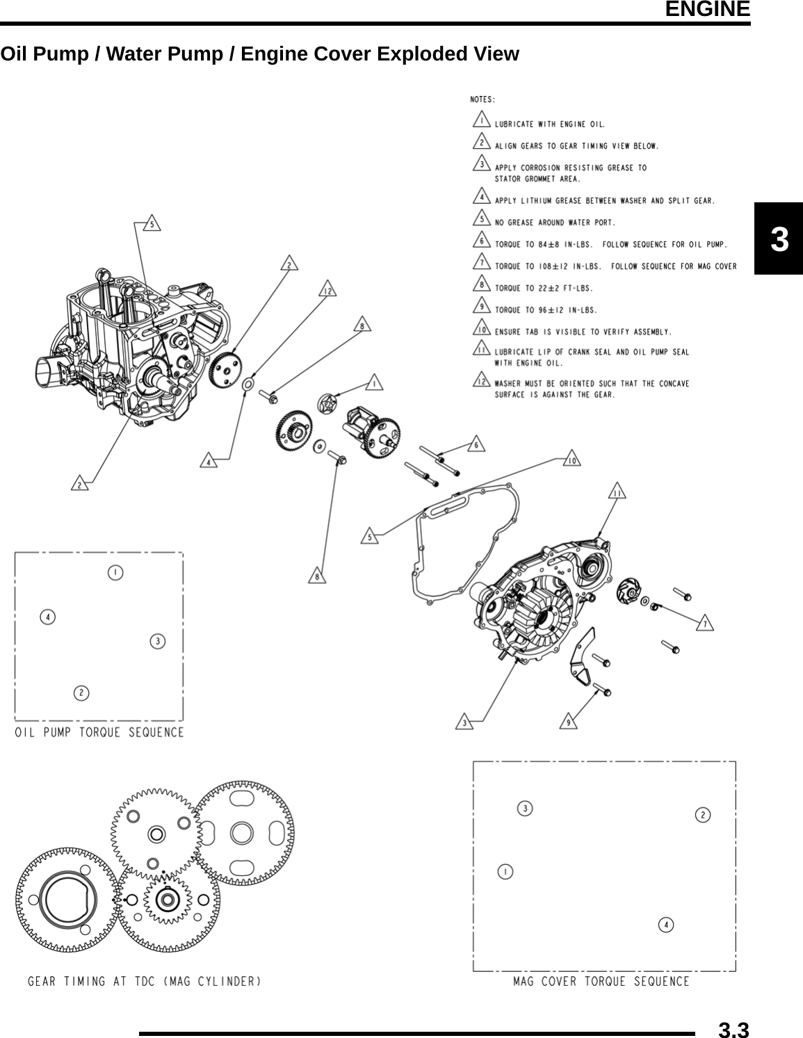 9921278 Rzr 800 2008 Polaris Service Manual Grommet 3 1 Engine Diagram 33engine3oil Pump Water Cover Exploded View
