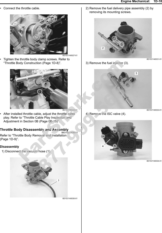 2008 Suzuki 750 King Quad Service Manual