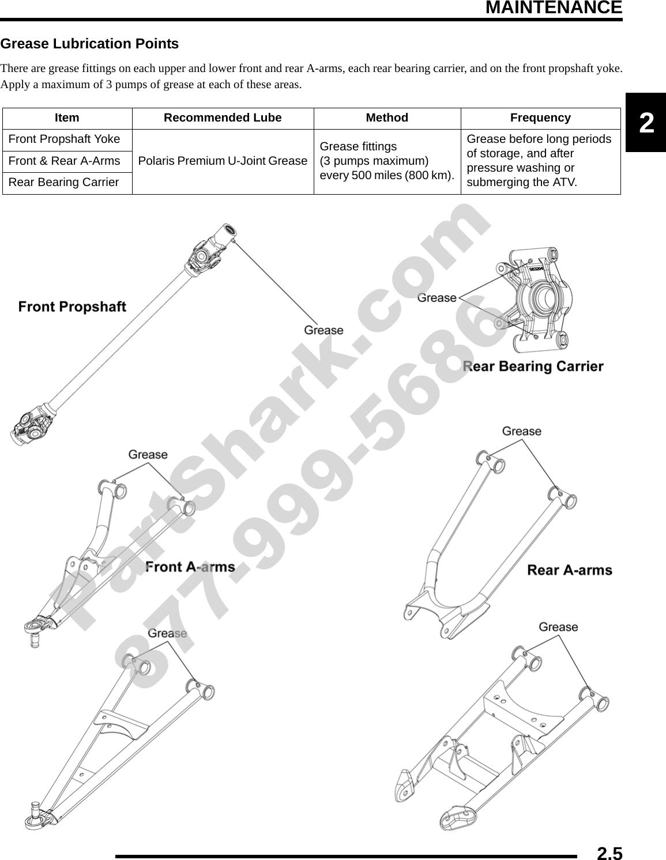 STEERING POST UPPER BUSHING Fits POLARIS SPORTSMAN XP 550 EPS 2009 2014