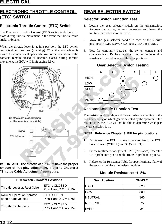 2009 Polaris Sportsman XP 850 Service Manual