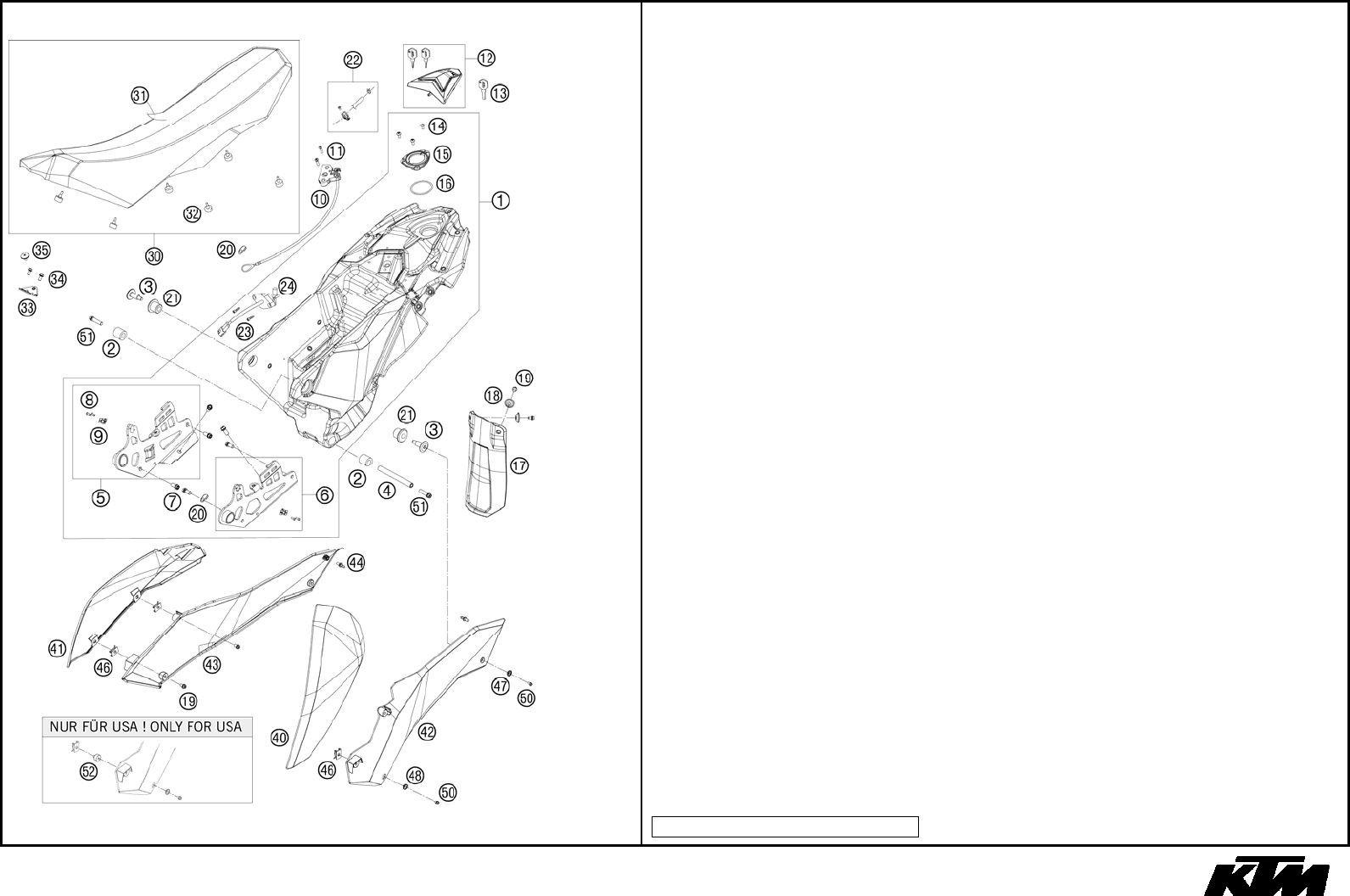 Chassis 690 Smc 2010 690smc Ktm 625 Wiring Diagram Usa