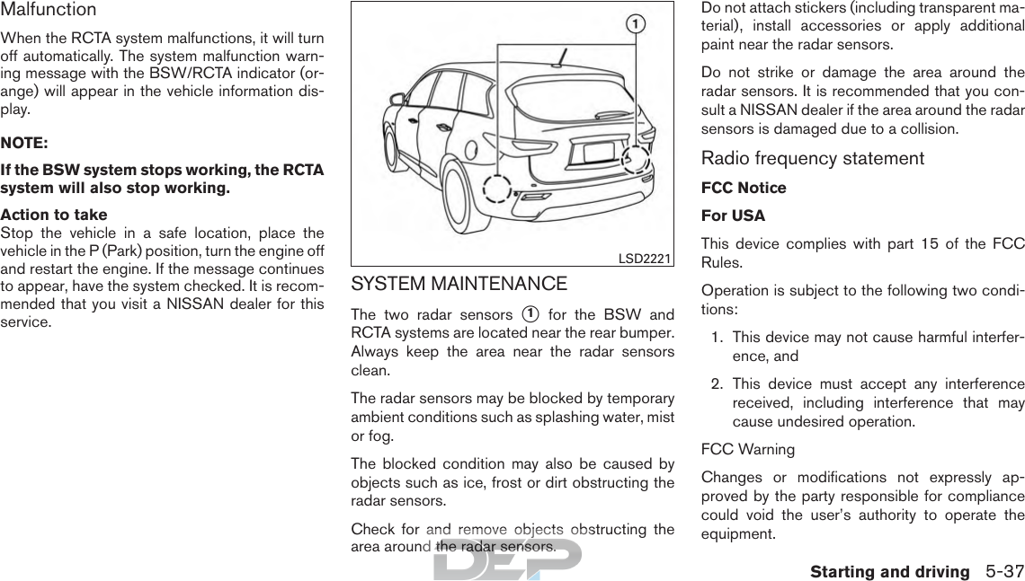 2017 Nissan Pathfinder | Owner's Manual USA