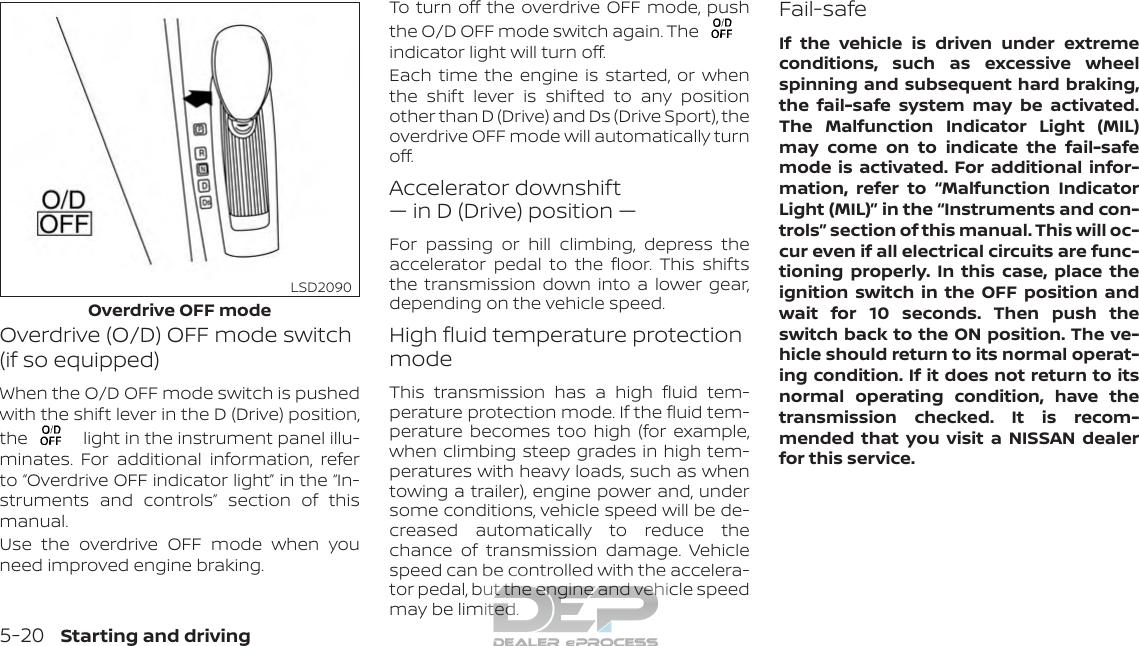 2018 Nissan Altima Sedan   Owner's Manual And Maintenance