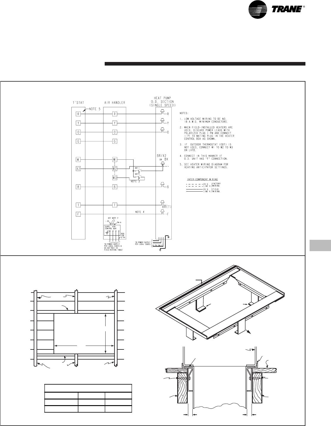 22 1774 01 Trane Heat Pump 4twb4 2 4tec3 Polarized Plug Wiring Diagram 0905 En 17