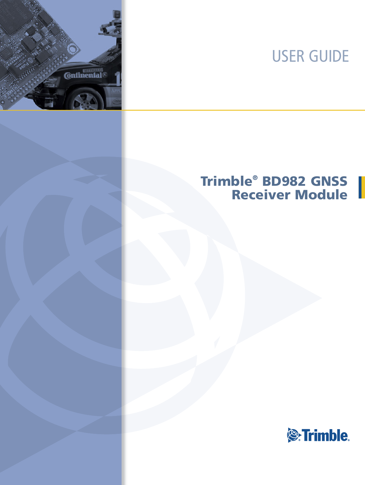 Trimble BD982 GNSS Receiver Module 291 manual
