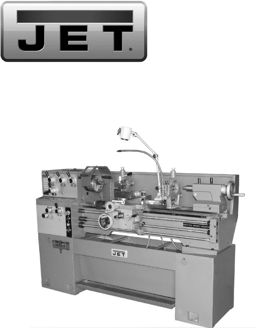 Parts List and Electrical Diagrams. Geared Head Lathes