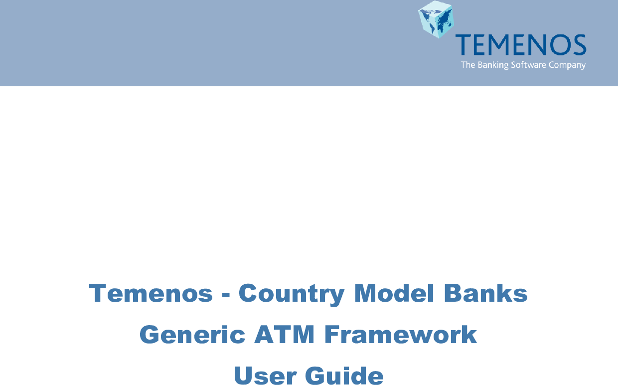 331014786 Generic ATM Interface User Guide