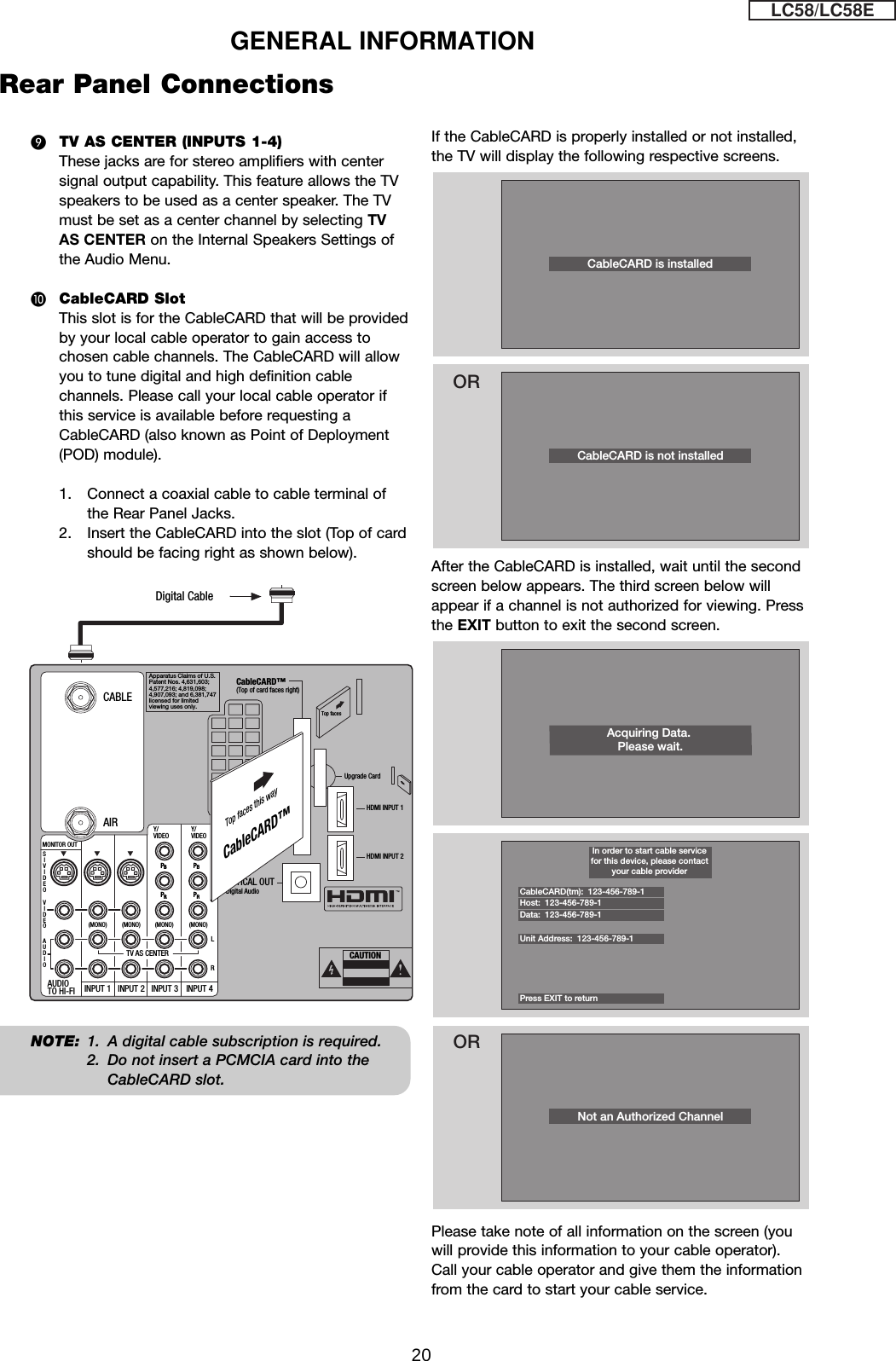 PANO 0191 55vg825 R Pid Vga Cable Wiring Diagram on