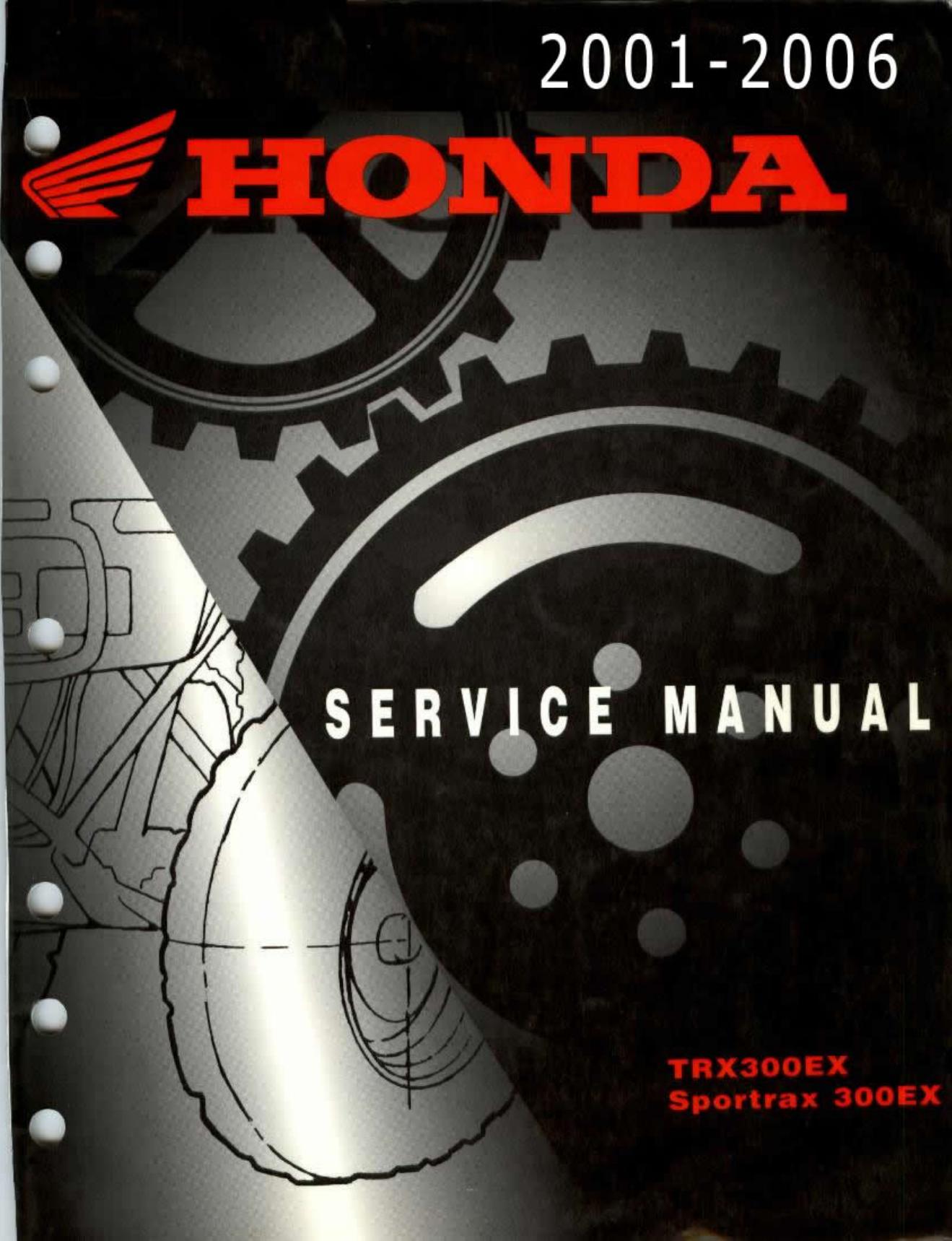 ... Array - 2001 2006 honda trx300ex service repair manual 2006 honda  trx300ex rh usermanual wiki