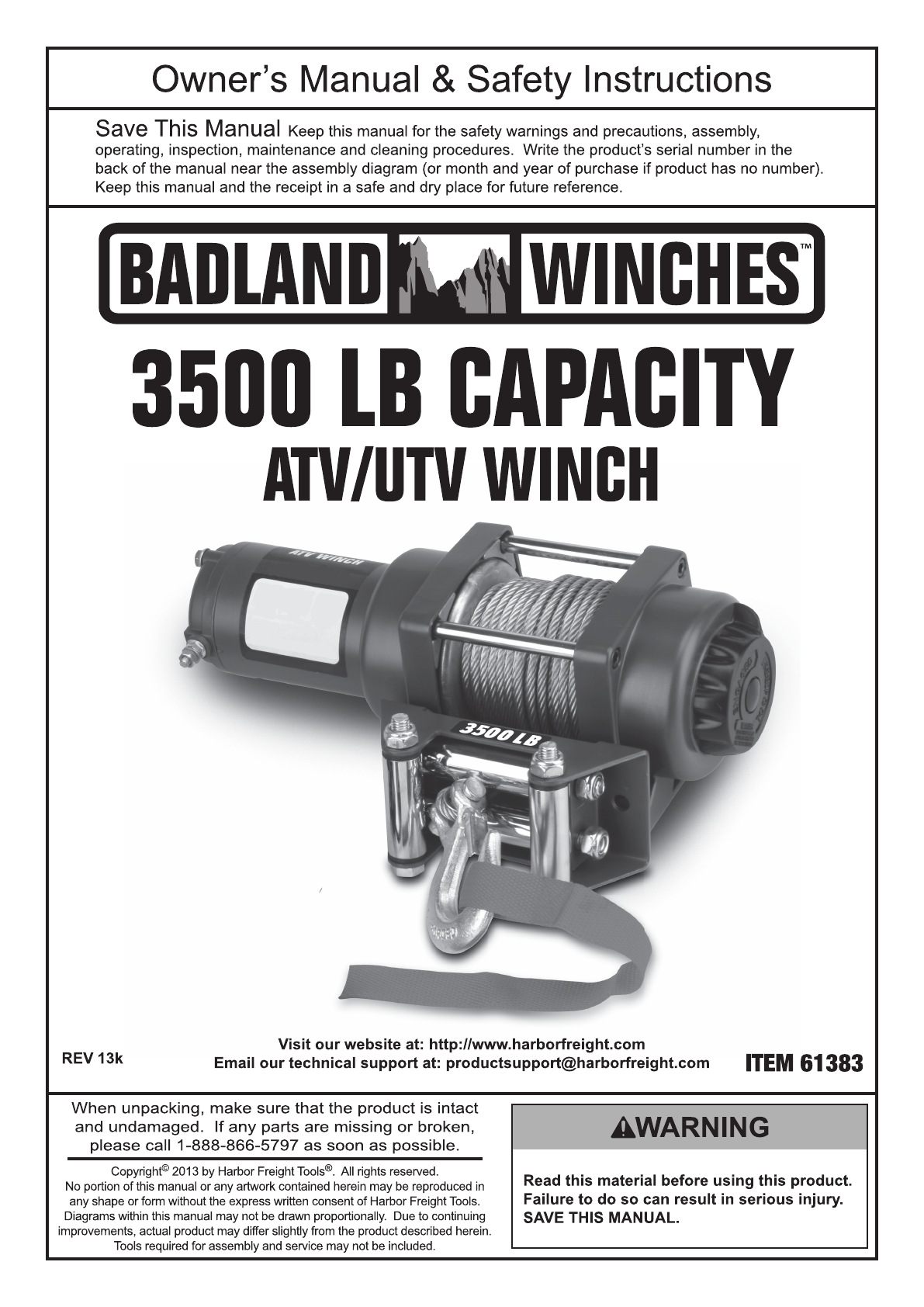 Badland 3500 Winch Wiring Diagram