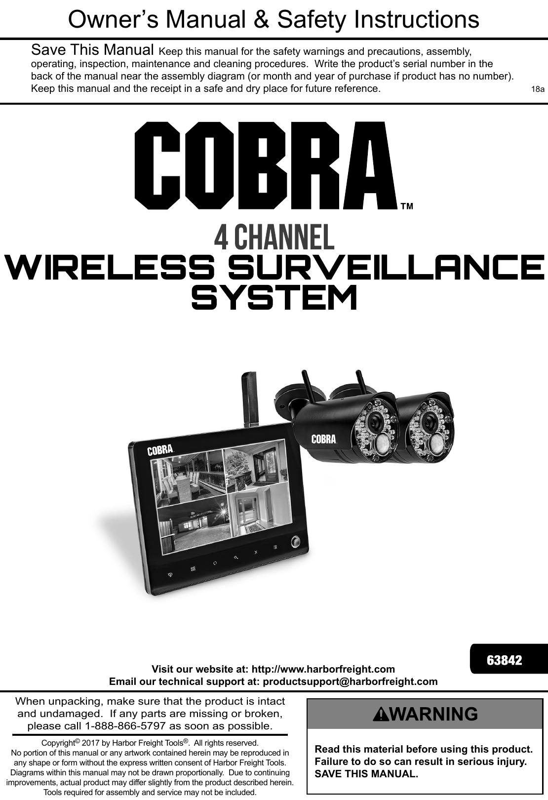 Parts Of A Home Security Camera System Manual Guide