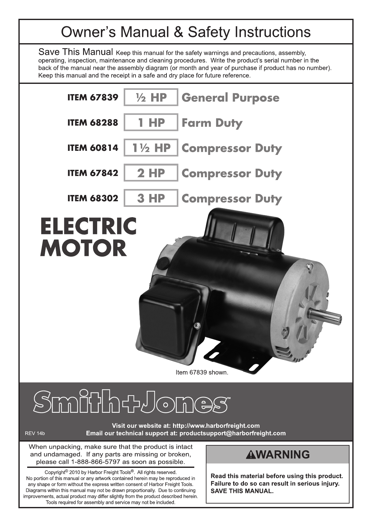 Smith Jone Motor 2 Hp Wiring Diagram