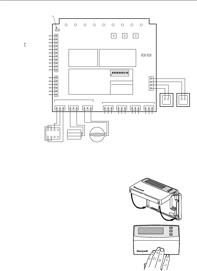 69 1331 T8635l Microelectronic Communicating Programmable Thermostat