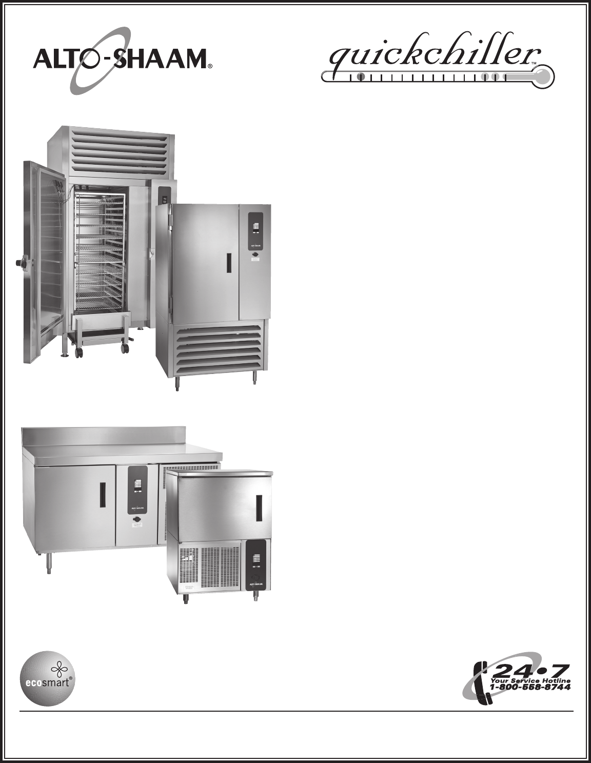 Alto Shaam Inc  Freezer Quickchiller Processing Freezer