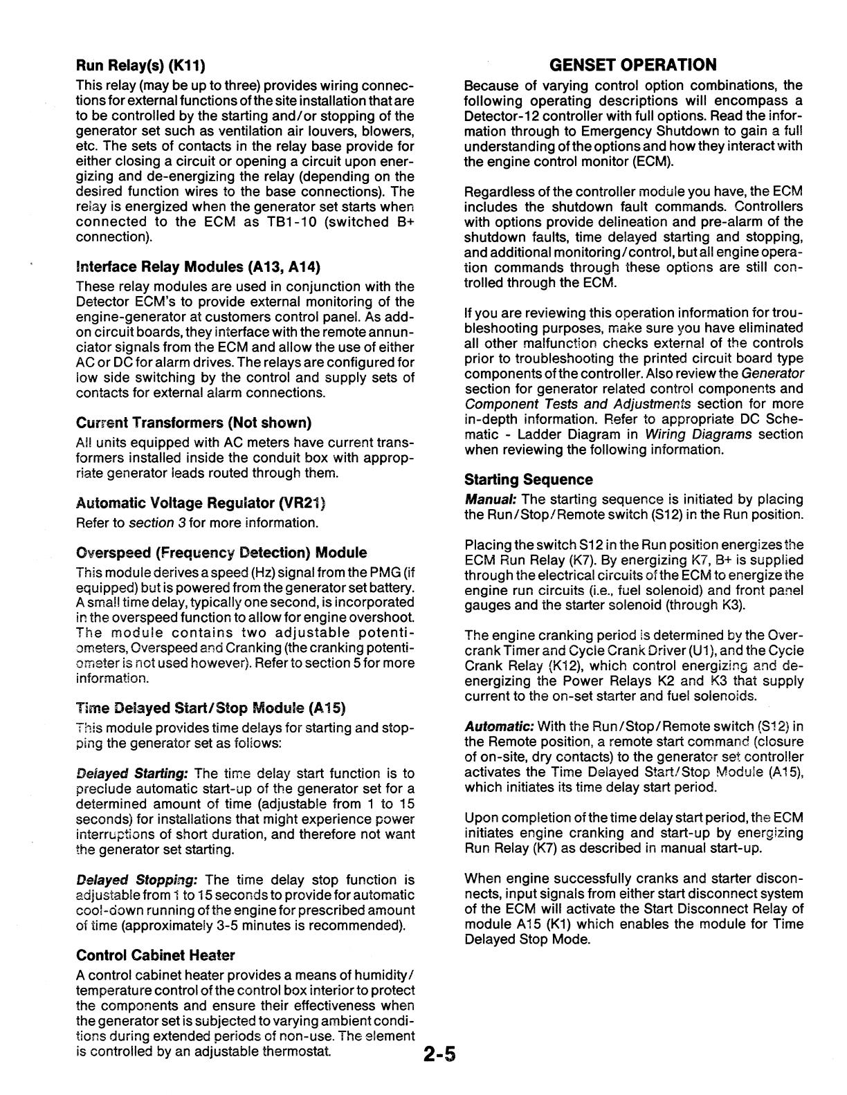 904 0501 Onan 4bt 6bt 6ct 6cta Series Genset Service Manual 04 1989 How To Read Ladder Diagrams Circuit 51425