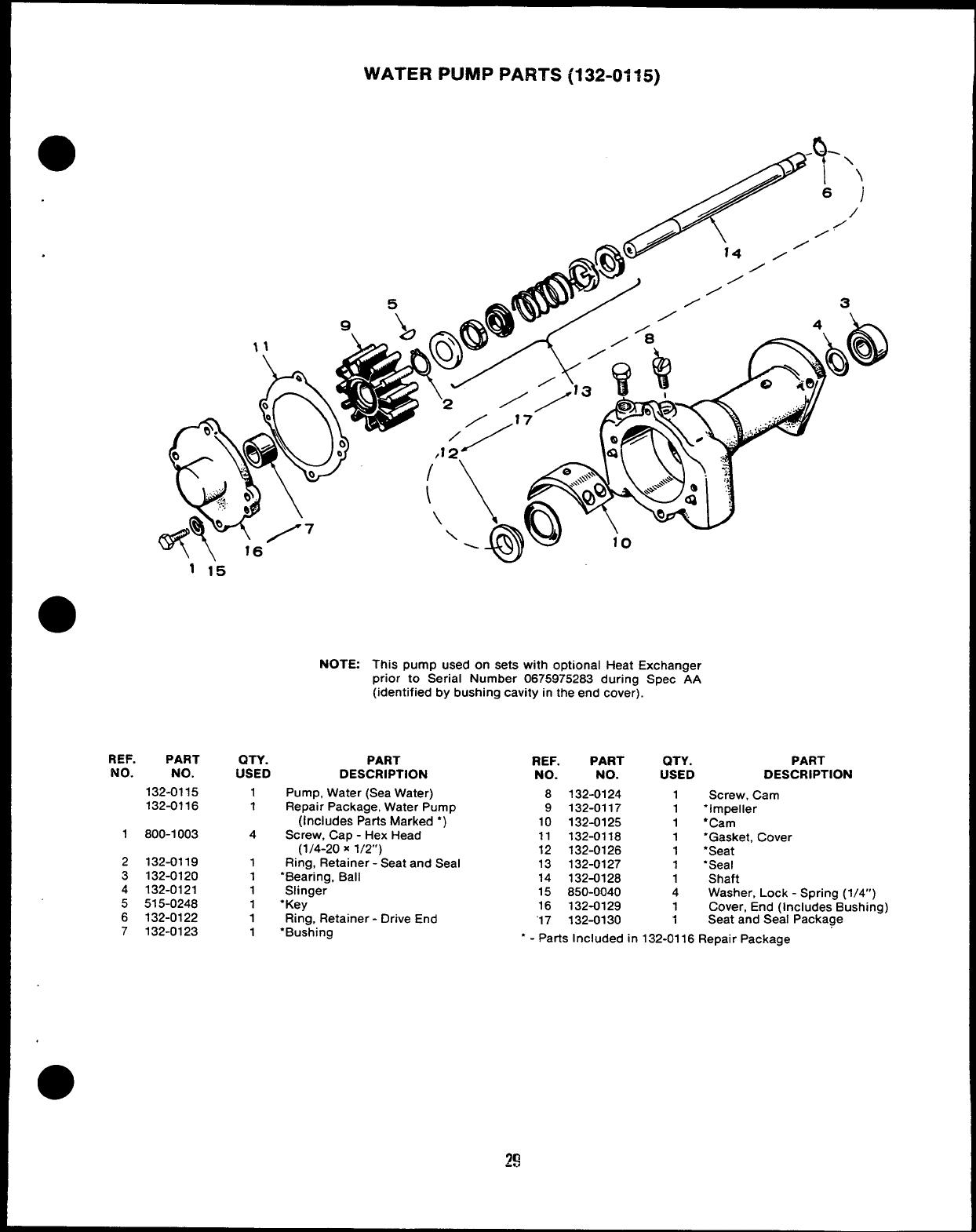 ONAN BEARING-B 510-0112