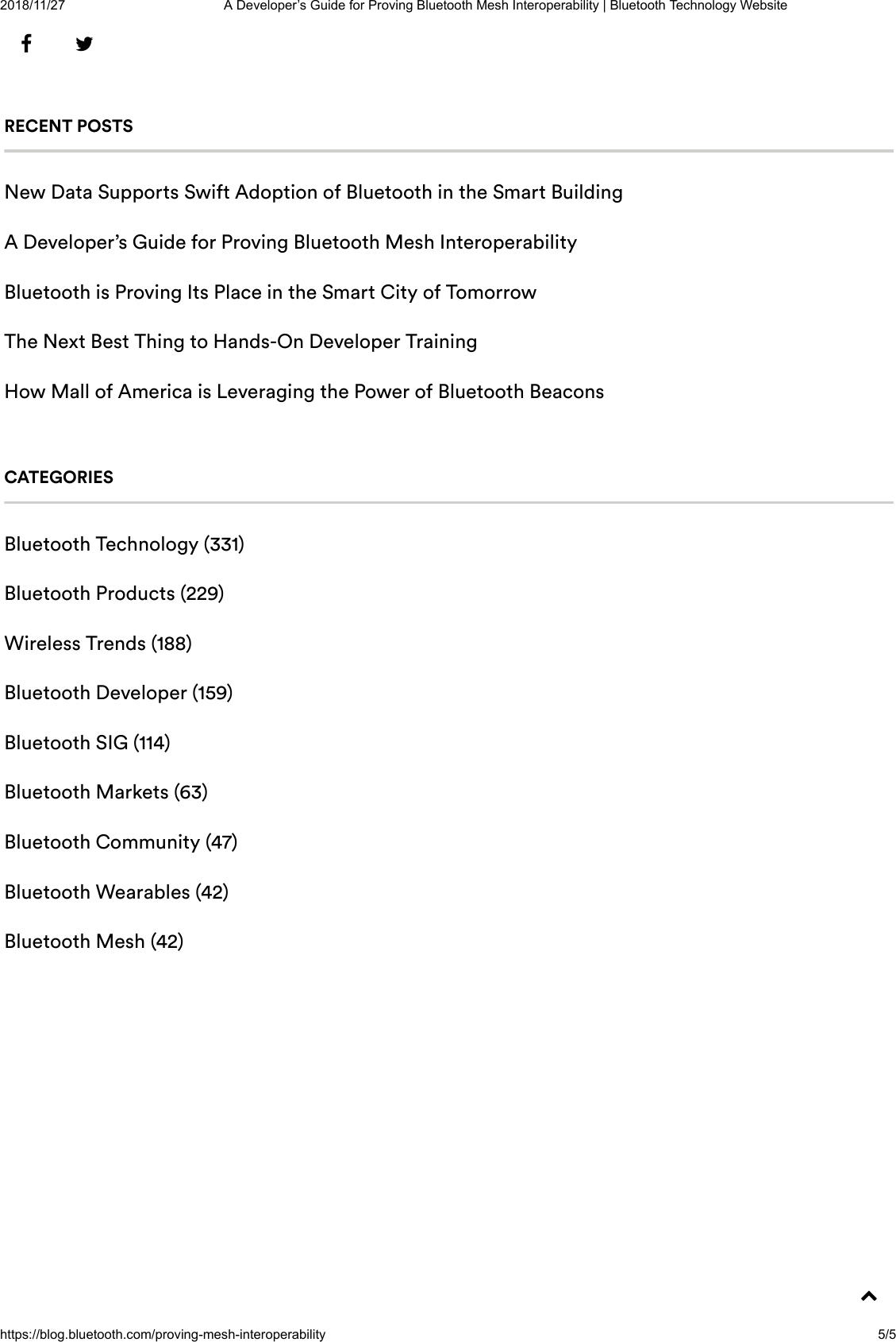 A Developer's Guide For Proving Bluetooth Mesh Interoperability