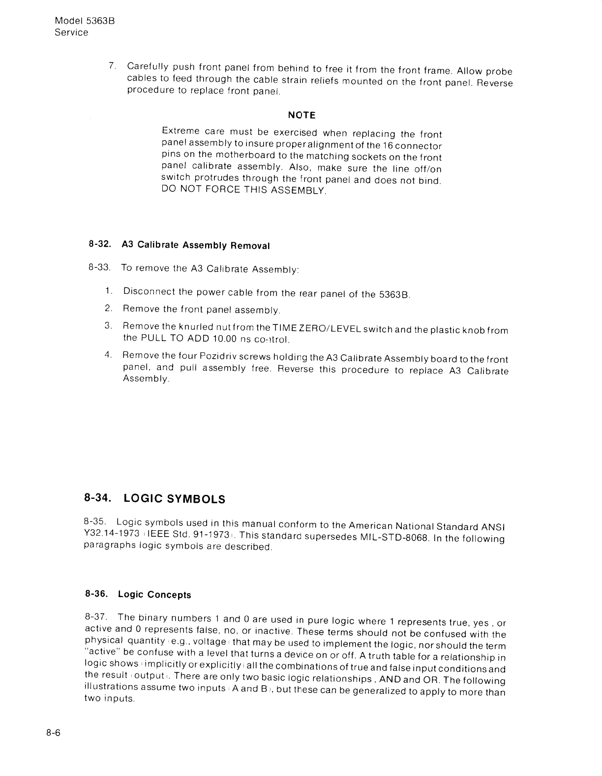 A 5363b Summary Of The Basic Logic Gates And Ieee Iec Standard Symbols If No Repair Parts Are Needed But Other Support From Agilent Is Available