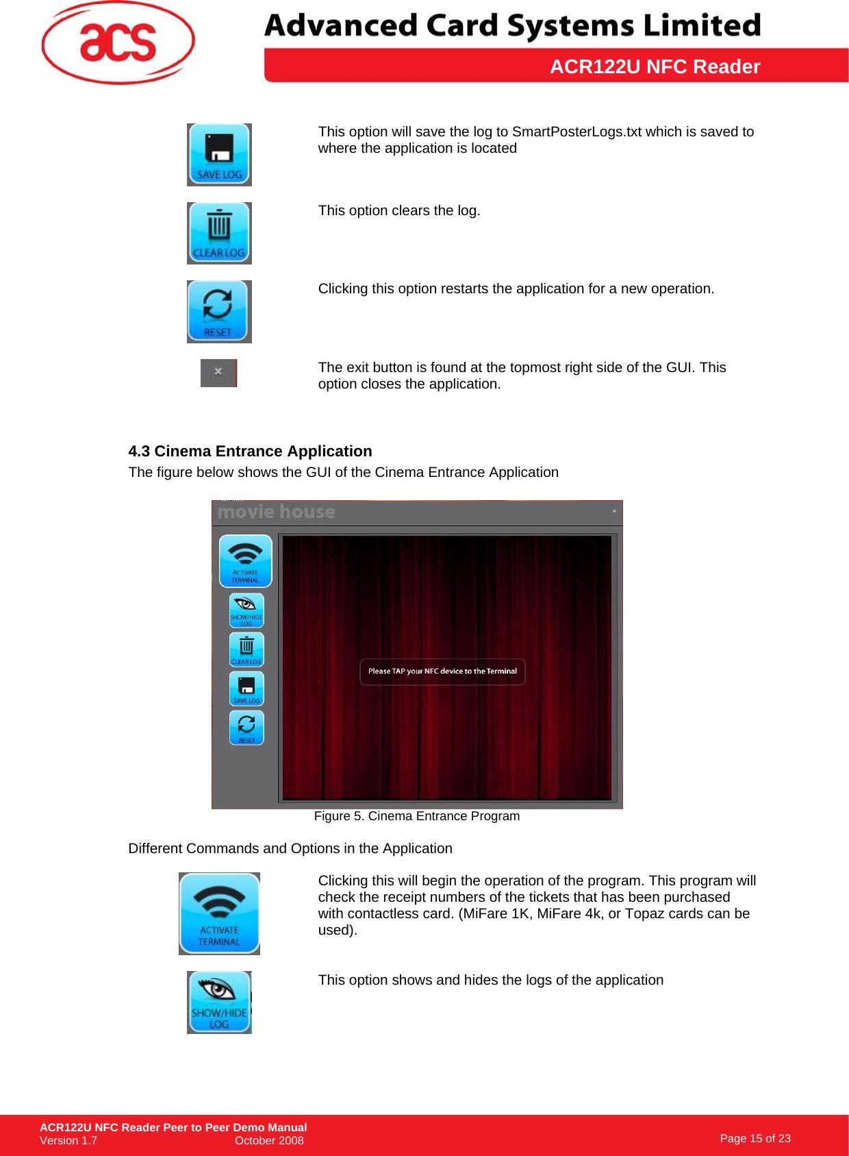 ACR122U NFC Reader Peer To Demo Manual_v1 7 P2P Manual