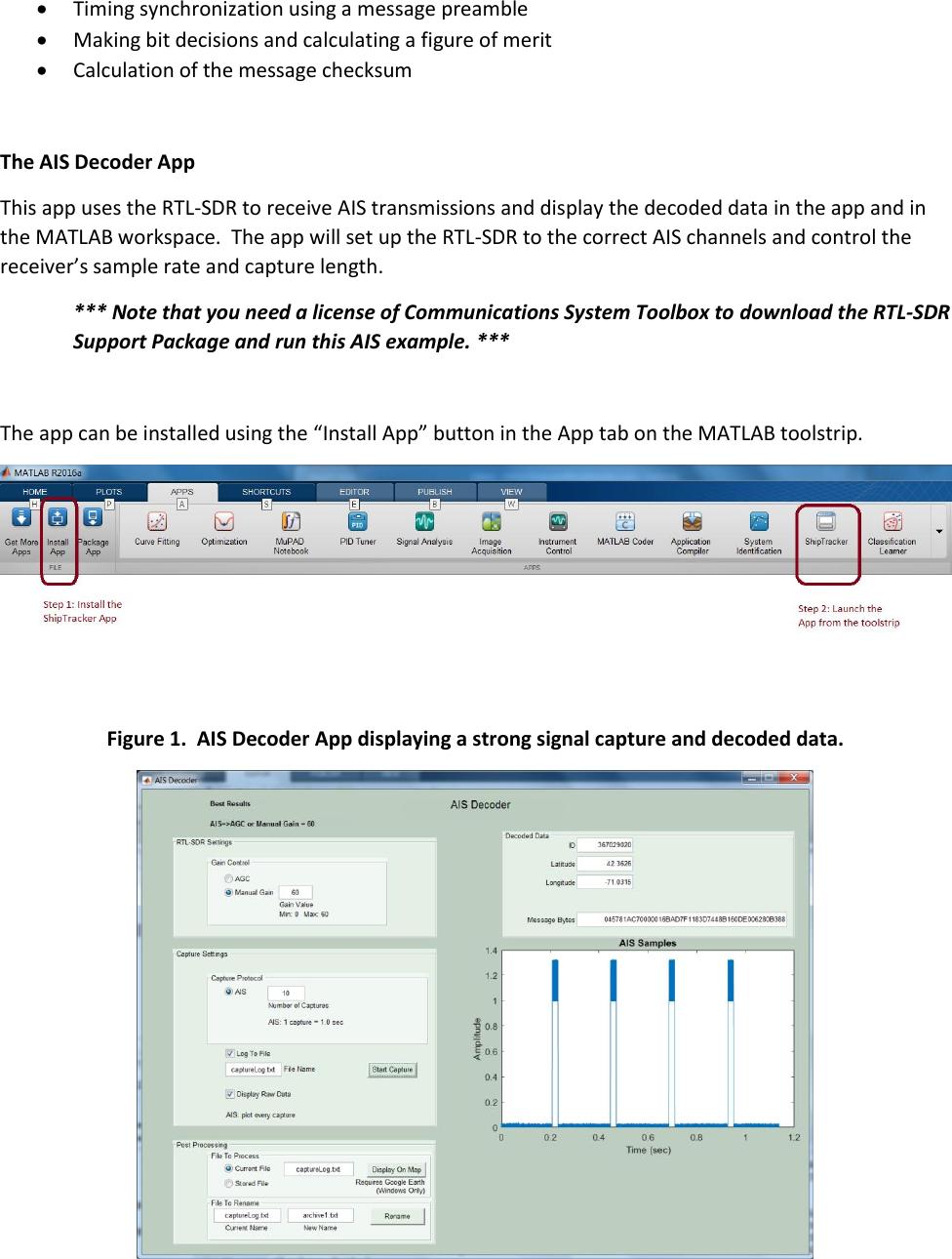 AIS Decoder Instructions