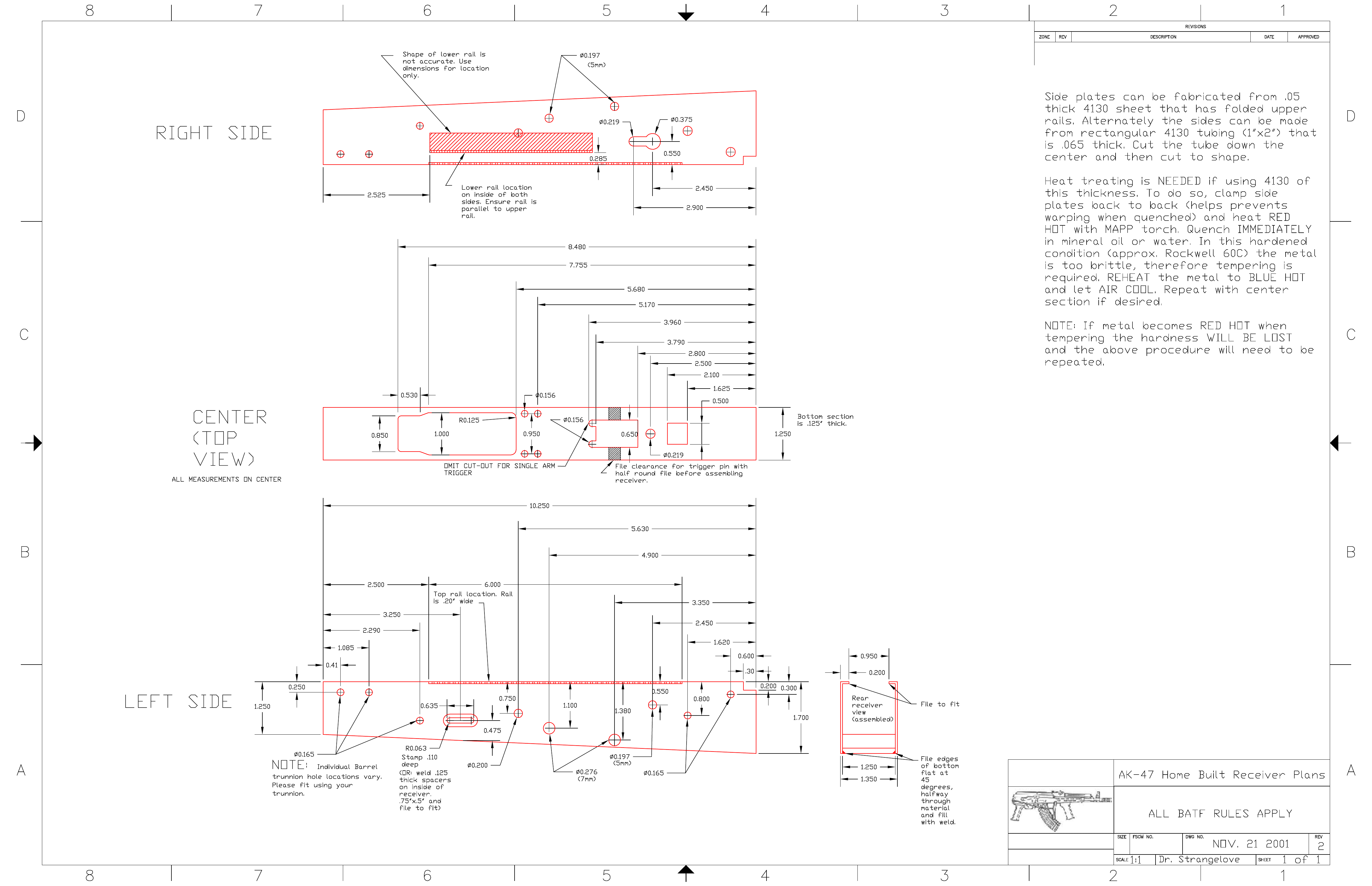 Ak 47 Receiver Diagram - Wiring Diagram Go