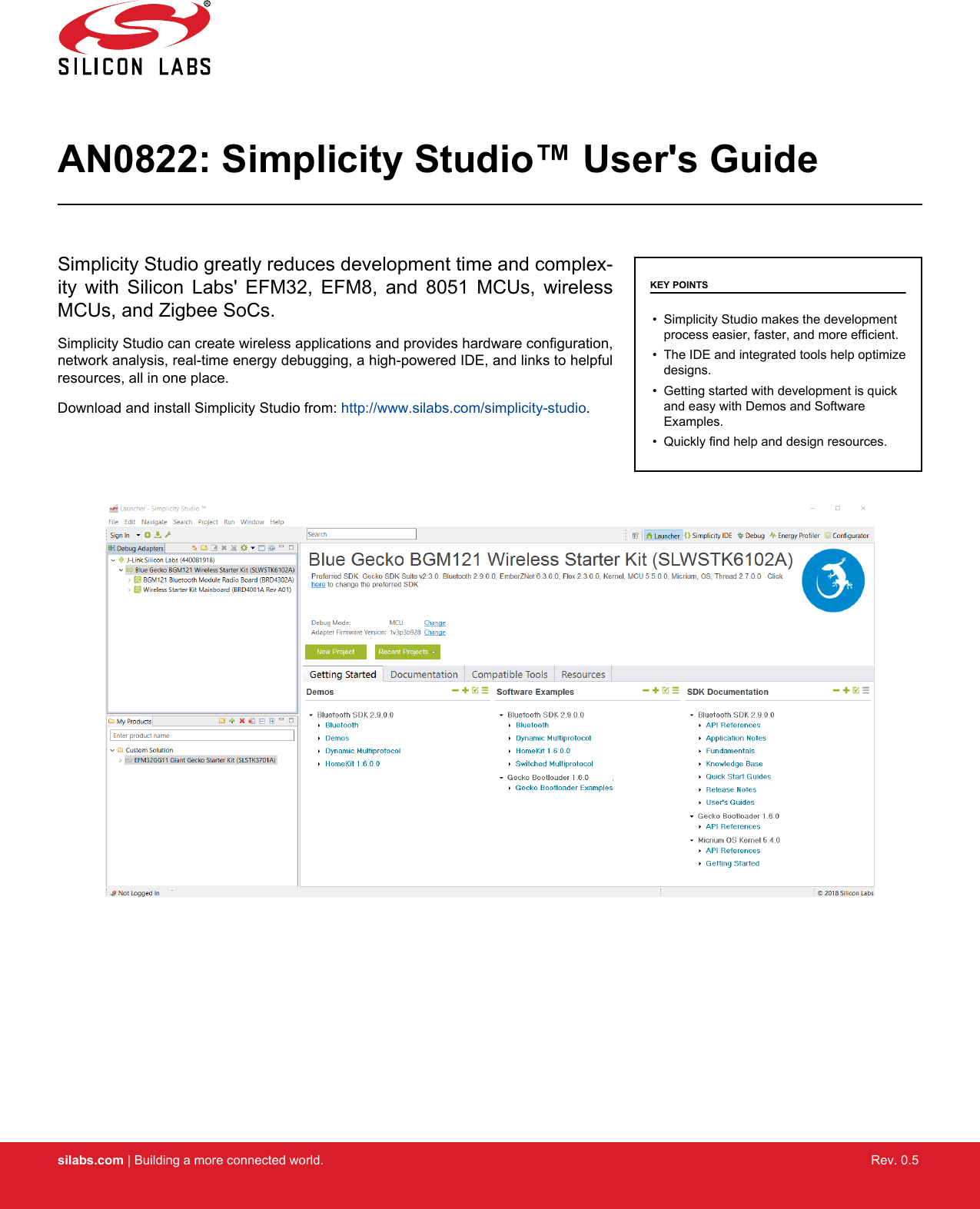 AN0822 simplicity studio user guide
