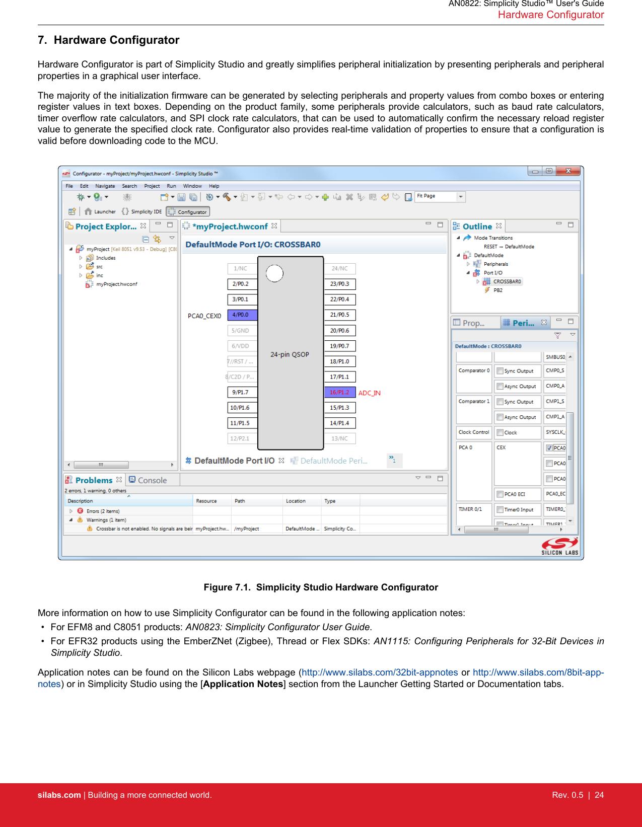 AN0822 simplicity studio user guide