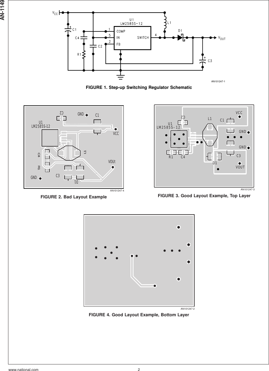 Layout Guidelines For Switching Power Supplies AN 1149