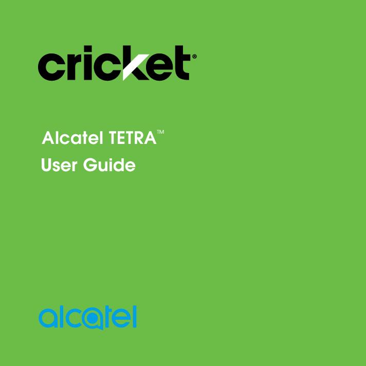 Alcatel tetra manual