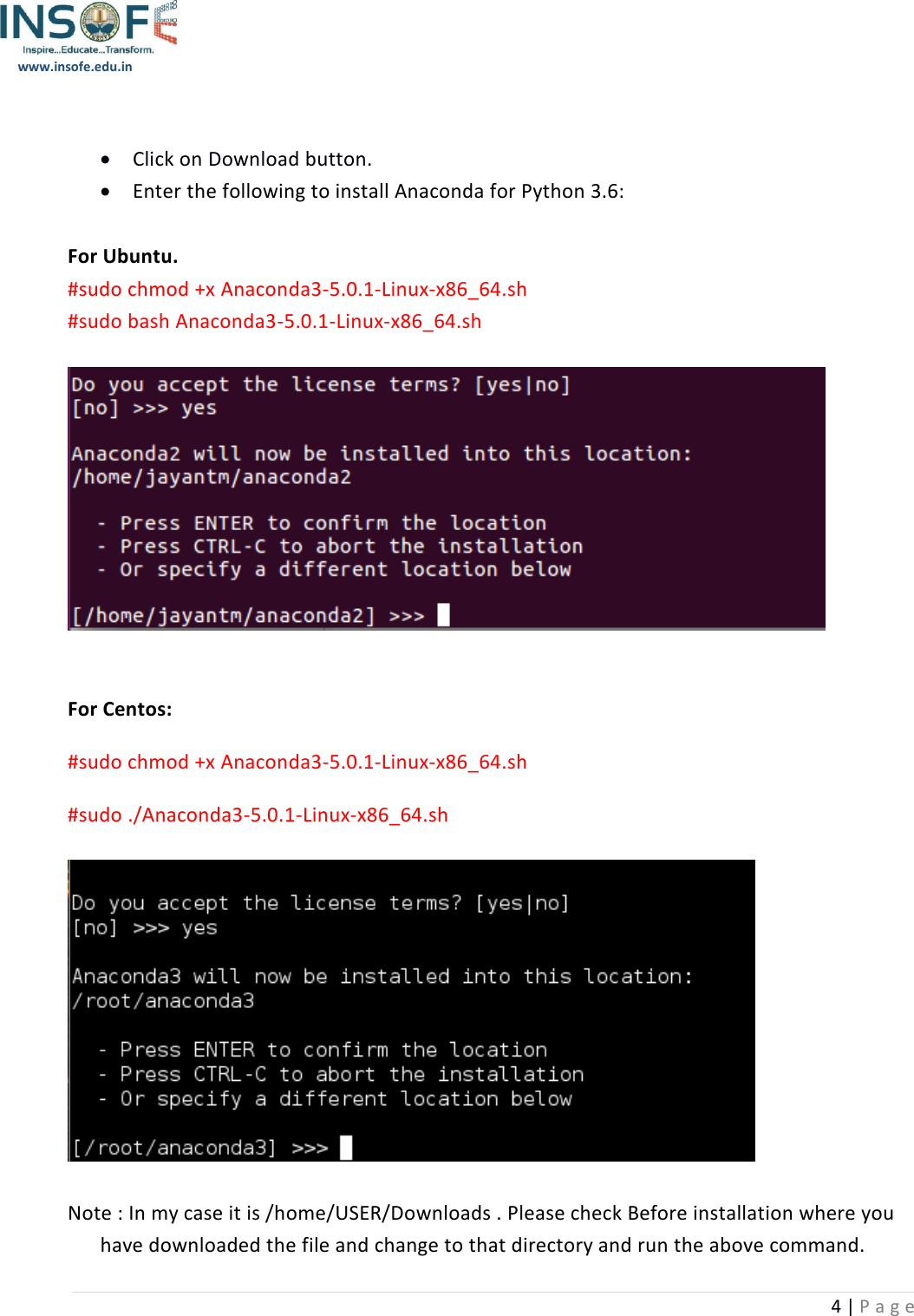 Anaconda Python And Libraries Installation Guide