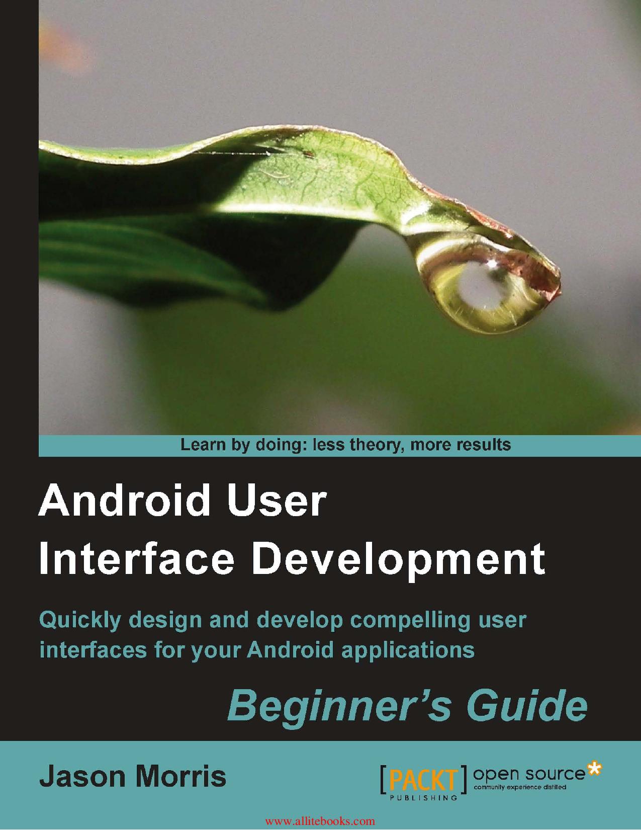 Android User Interface Development Beginner s Guide