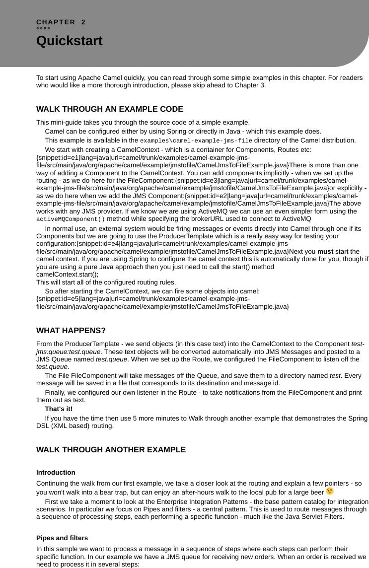 Apache Camel (v2 23) User Guide