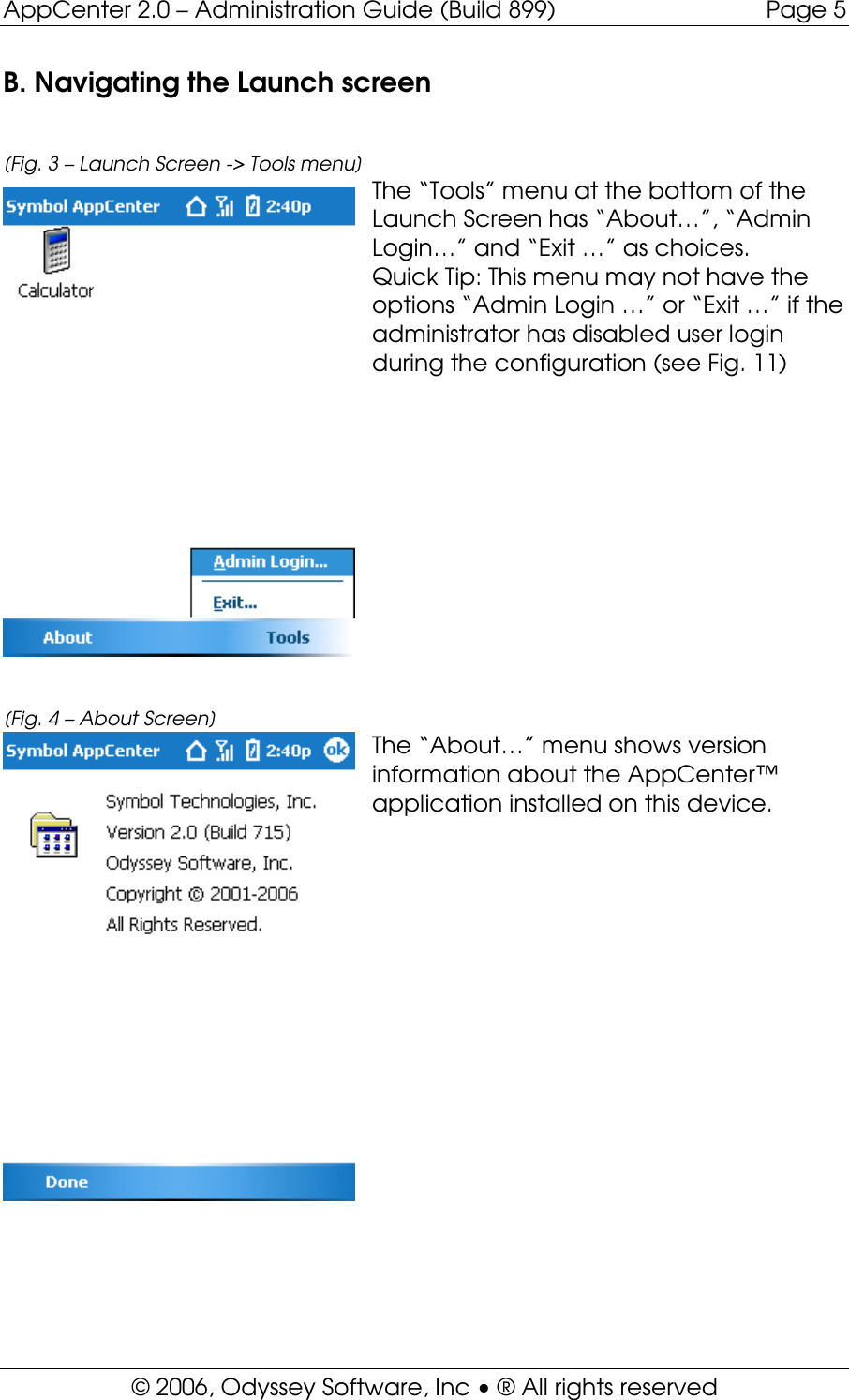AppCenter 2 0 WM Admin Guide Build 899 App Center