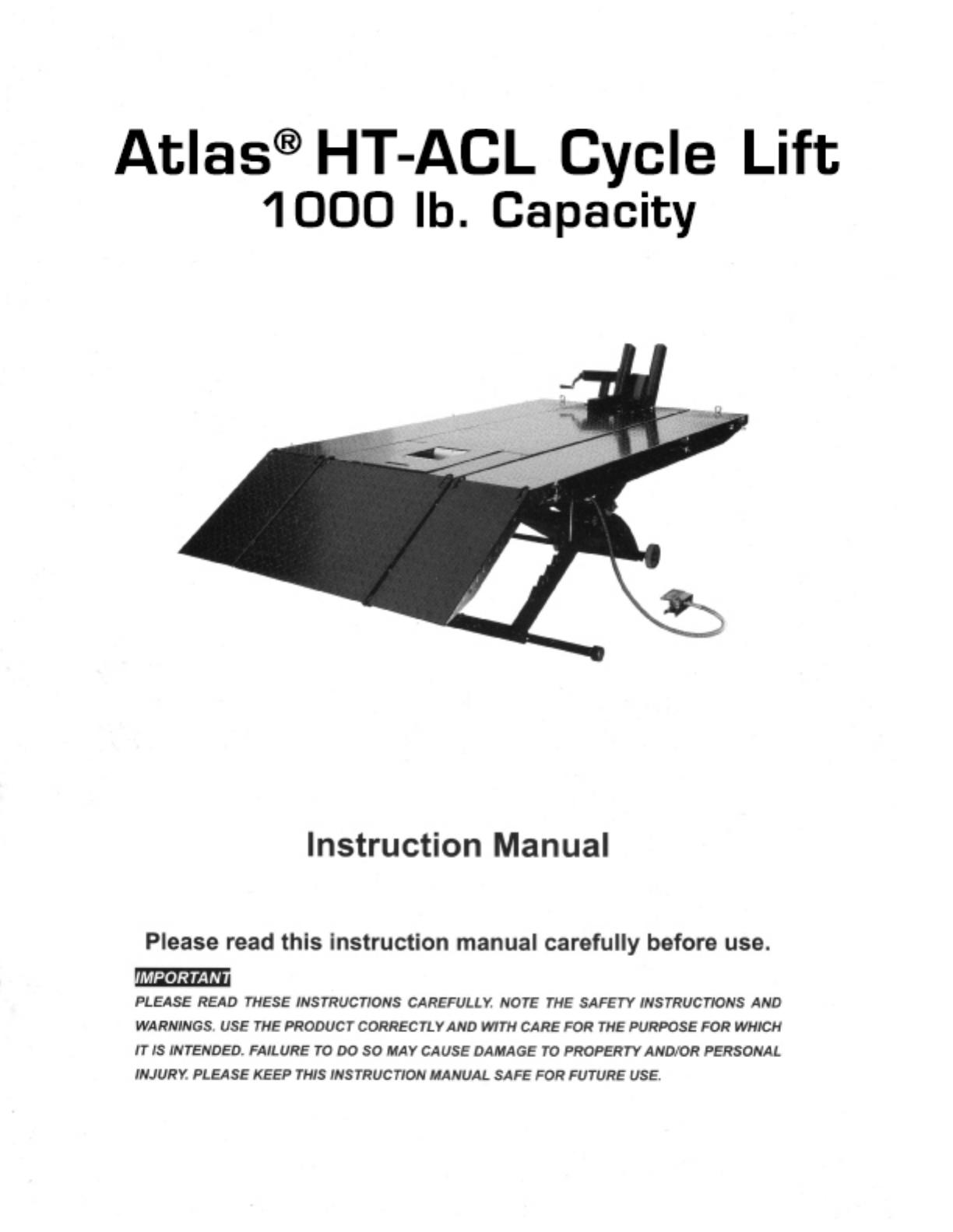 Atlas Lift Wiring Diagram