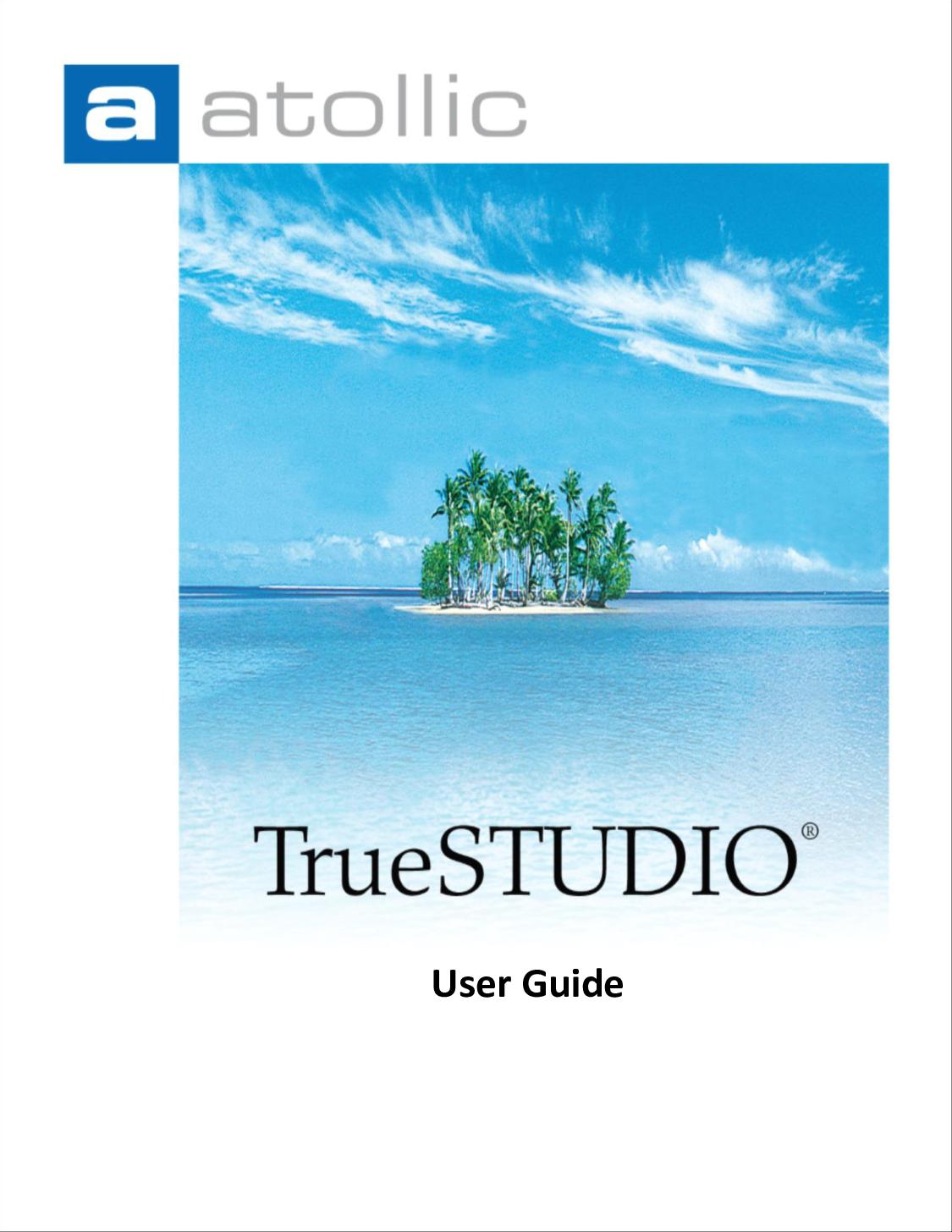 User Guide Atollic True STUDIO For STM32