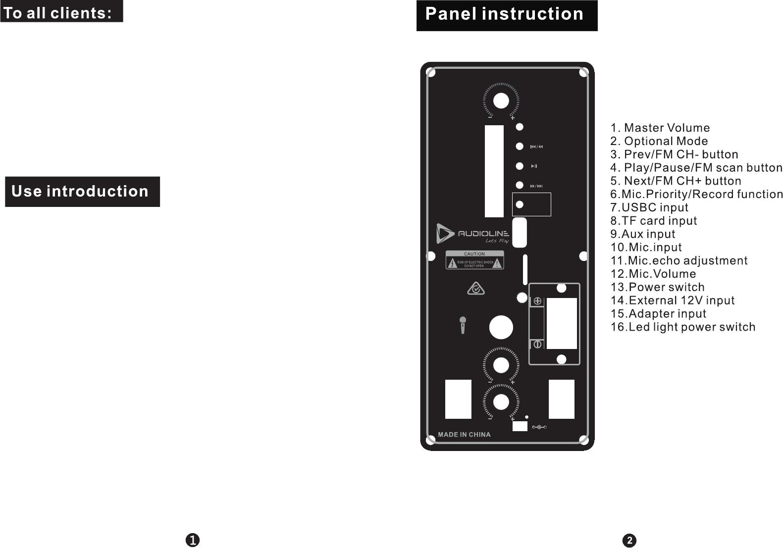 Audiolione Albaby8 User Manual Usbc Wiring Diagram