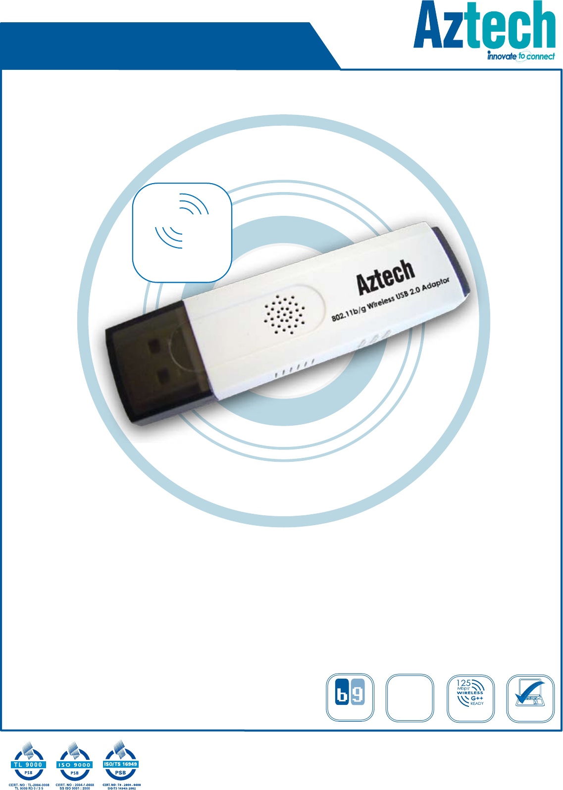 AZTECH 802.11BG WIRELESS USB 2.0 ADAPTOR DRIVERS DOWNLOAD