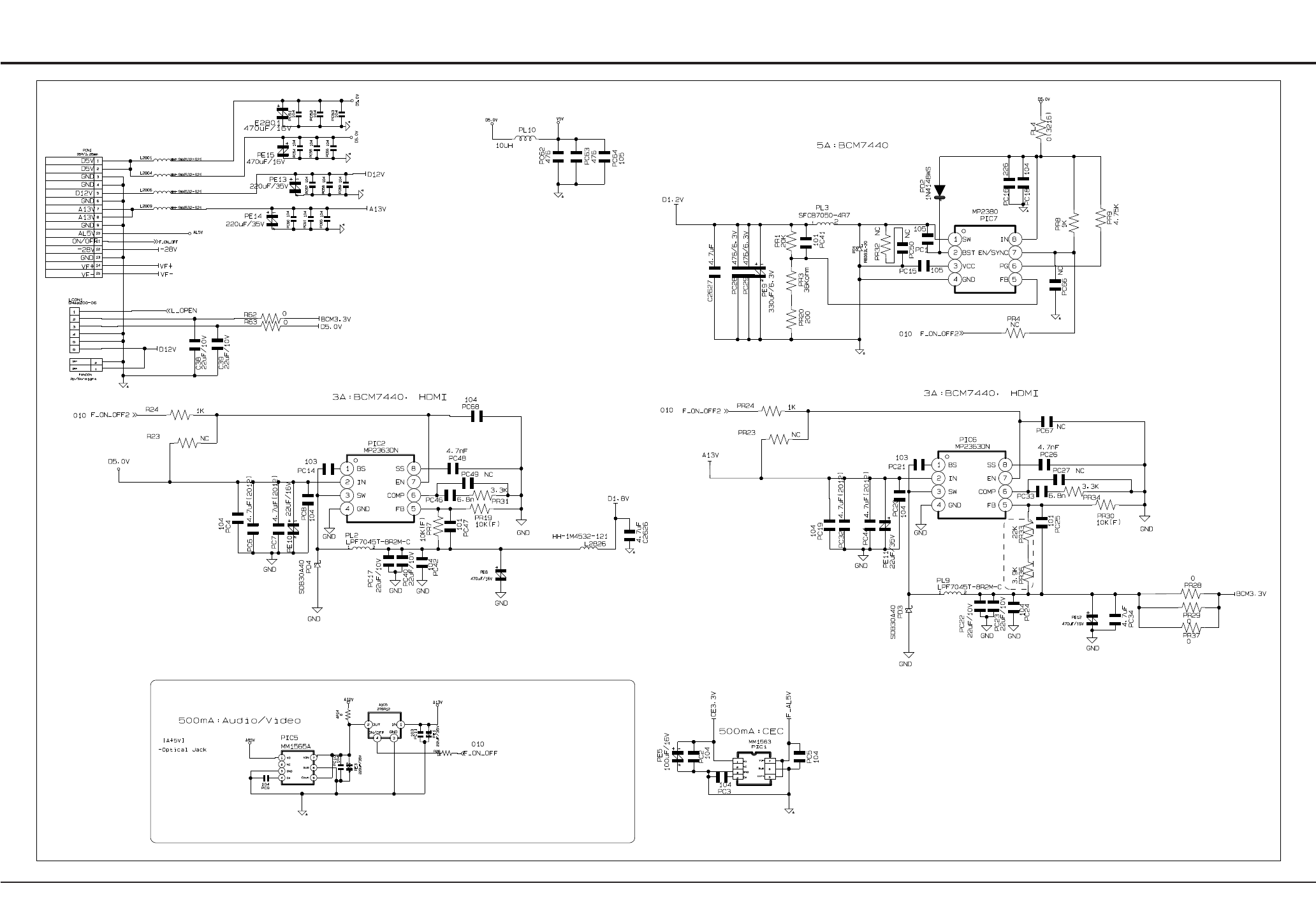 Bdp1500 1w 4w 6w 10w 12w Led Driver Circuit Smps Making Easy Circuits Schematic Diagrams