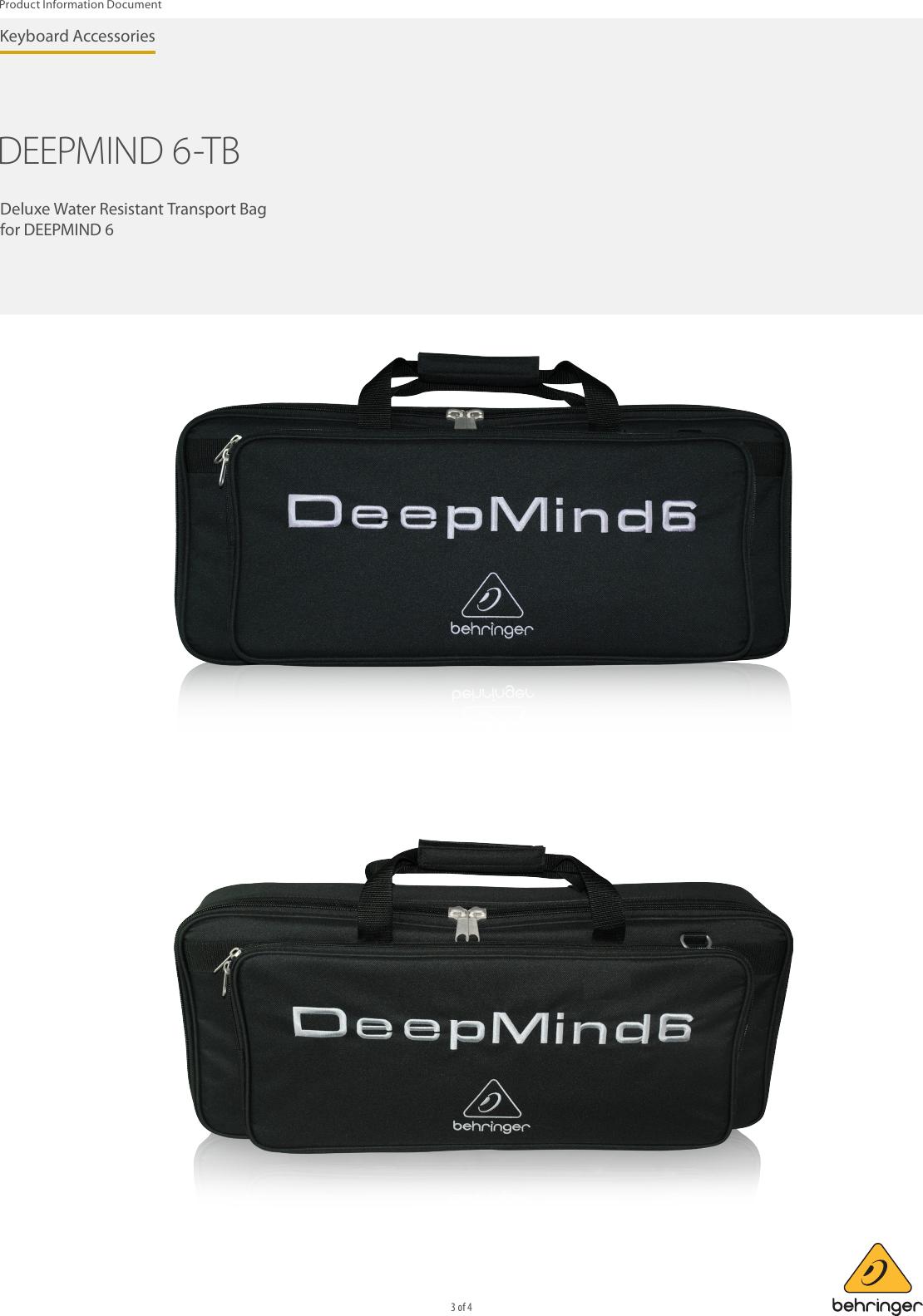 Behringer DeepMind 6 Bag